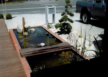 Réalisation d\'étangs et jardins à Tournai. création d\'étangs,...